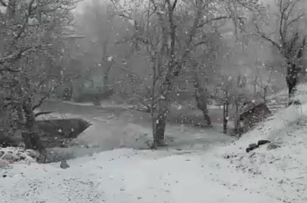 Denizli'ye Mart ayında kar sürprizi