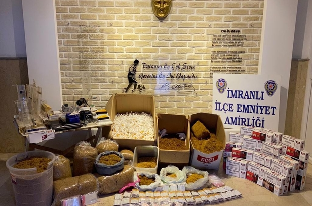 İmranlı'da kaçak tütün  operasyonu Sivas'ın İmranlı ilçesinde bir şahsa ait ikamette, işyerinde ve araçta yapılan aramada 52 kilogram tütün ve çok sayıda makaron ele geçirildi.