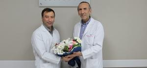 Özel İmperial Hastanesi'nde başhekimlik devir teslim töreni düzenlendi Op. Dr. Ömer Fatih Çelik'in görevden ayrılmasıyla boşalan başhekimlik görevini Çocuk Hastalıları Uzmanı Dr. Nevzat Akkol devraldı