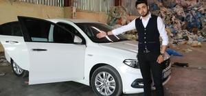 """Sıfır otomobilin 2 kapısı değişmiş, direği boyalı çıktı Adanalı iş adamının TOFAŞ'tan aldığı sıfır kilometre Fiat Egea marka otomobilde yapılan ekspertiz incelemesinde 2 kapısının değişmiş, iç direklerinin de boyalı olduğu ortaya çıktı Araç sahibi Ömer Faruk Talaş: """"20 bin lira maddi zararımız var, karşılanmasını istiyorum"""" """"Firma telefonlara bile cevap vermiyor"""""""