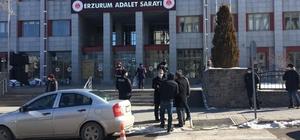 Gözaltına alınan HDP'li Karaçoban Belediye Başkanı Erzurum Adliyesi'ne getirildi