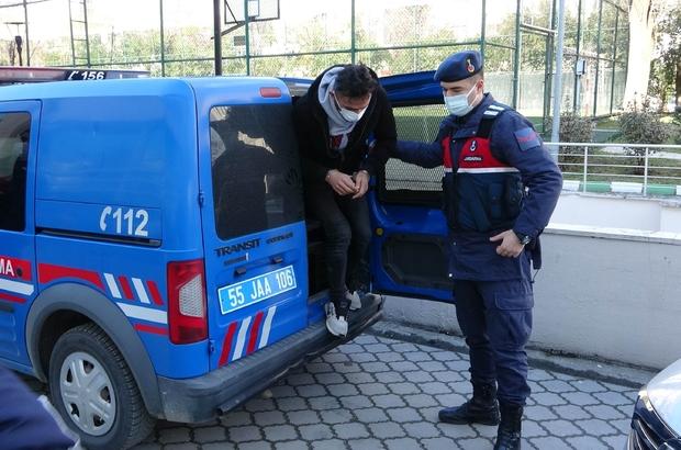 Samsun'da jandarmadan DEAŞ operasyonu: 2 gözaltı