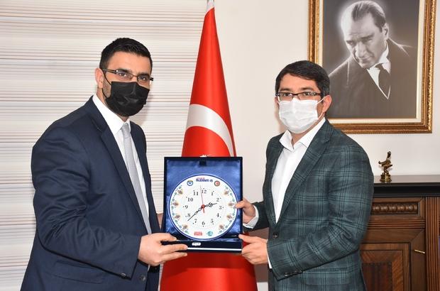 Başkan Karafil'den Başkan Çelik'e teşekkür