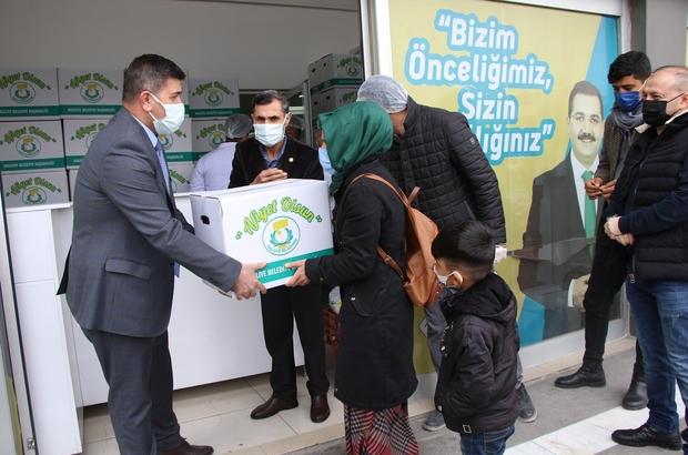 Haliliye'de çölyak hastalarının gönüllerine dokunuyor