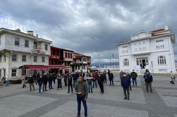 Mudanya Girit Mahallesi esnafı adım atılmasını bekliyor