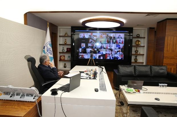 Başkan Büyükkılıç, yeni kontrollü normalleşme sonrasında İl Pandemi Kurulu Toplantısı'na katıldı