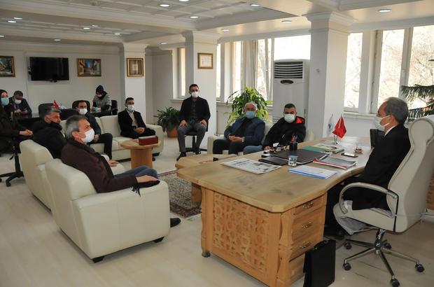 Denizli heyeti Akşehir Belediyesinin projesini inceledi