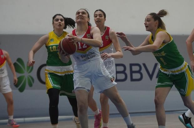 Basketbol Gençler Kızlar Ligi Kızlar 2.Hafta Bellona Kayseri Basketbol:42 -İstanbul Üniversitesi: 69