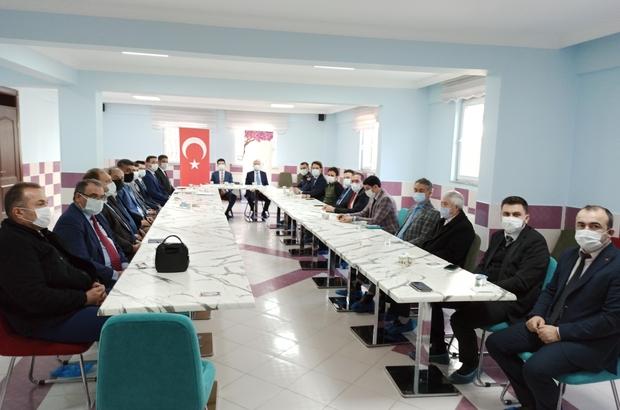 Şuhut'ta 'idare şube başkanları' toplantısı