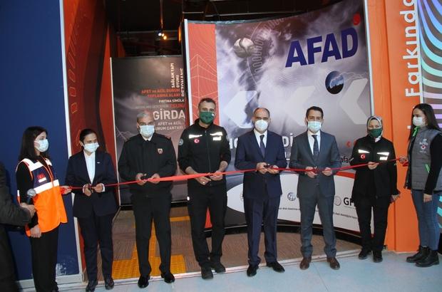 Konya Bilim Merkezinde AFAD farkındalık alanı açıldı