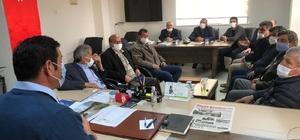 Hüyük Belediyesi meclis toplantısında projeler ele alındı