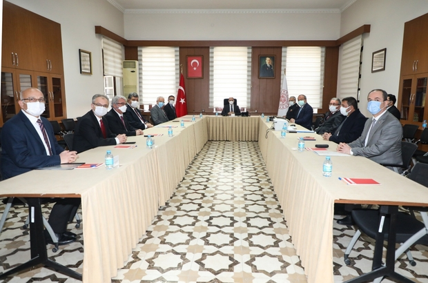 Konya'da Üniversite Güvenliği Koordinasyon ve İşbirliği Toplantısı yapıldı