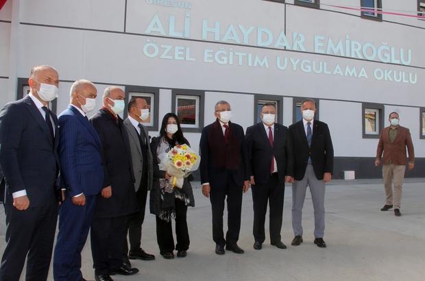 Giresun'da Özel Eğitim ve Uygulama Okulu hizmete açıldı