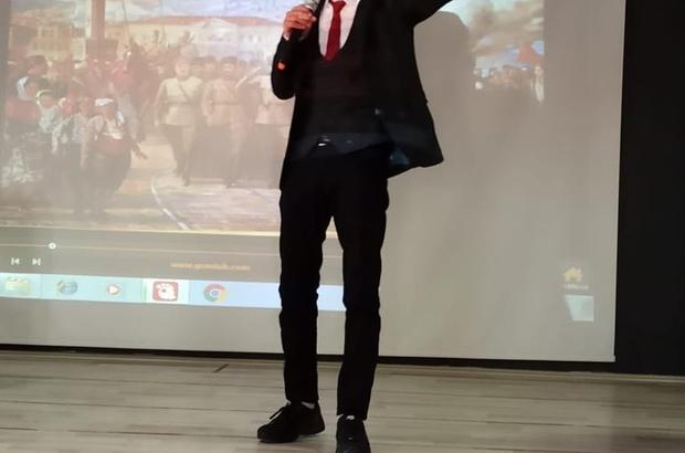 Tomarza'da İstiklal Marşı'nın Güzel Okuma Yarışması düzenlendi
