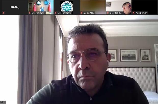 """Terör ve Güvenlik Uzmanı Abdullah Ağar: """"Bu türbülanslı coğrafyada yolumuzu bulursak sadece kendimizi değil, insanlığı da kurtaracağız"""" KTO'dan online ortamda """"Türkiye'nin Varoluş Mücadelesi"""" Semineri"""