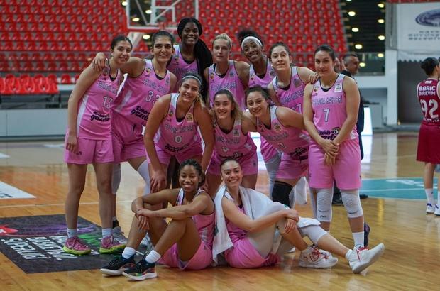Türkiye Kadınlar Basketbol Süper Lig 24. Hafta Bellona Kayseri Basketbolç 70 - Botaş: 55