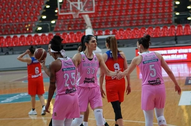 Bellona Kayseri Basketbol hızlı hücum ve bench sayılarında etkili oldu
