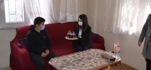 Kaymakam hanımdan doğum günü sürprizi