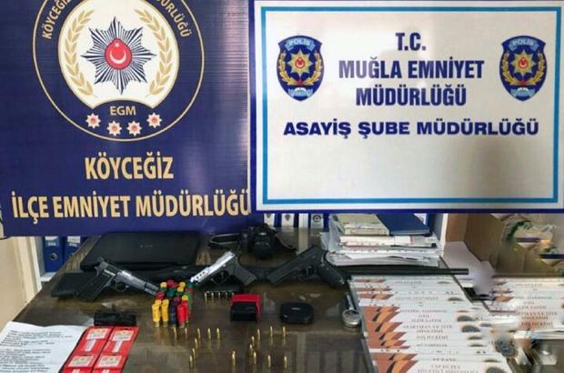 Köyceğiz polisinden sahte belge operasyonu