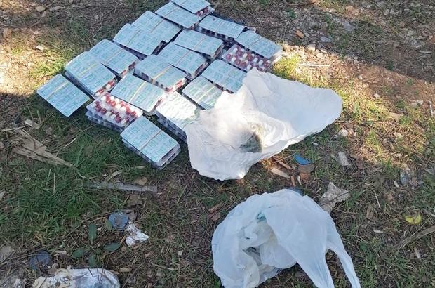 Börek arasında uyuşturucu yakalandı Ula karayolu Gülağzı mevkiinde Jandarma uygulama noktasında yolcu otobüsünde narkotik köpek ile yapılan denetimde börek arasına zulalanmış Bin 64 adet uyuşturucu hap gele geçirildi.