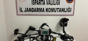 Isparta'da tarihi eser operasyonu: 8 gözaltı