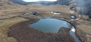 Göletler şehri Ordu Ordu'da gölet yapımı ve su alma yapıları inşaat çalışmaları sürüyor