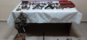 Giresun'da kaçak silah imal eden 3 kişi yakalandı