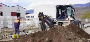 Erbaa Belediyesi Organize Sanayi Bölgesinde altyapı çalışması başlattı.