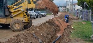 Yatağan Madenler'de içme suyu hatları yenileniyor Muğla Büyükşehir Belediyesi Yatağan ilçesi Madenler Mahallesi'nde içme suyu hattı yenileme çalışmalarına başladı. Çalışma kapsamında 1500 metrelik hattı yenilenecek.