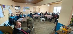 Şaphane'de su israfını önlemek için toplantı yapıldı