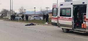Motosiklet ile  bisiklet çarpıştı: 1 ölü