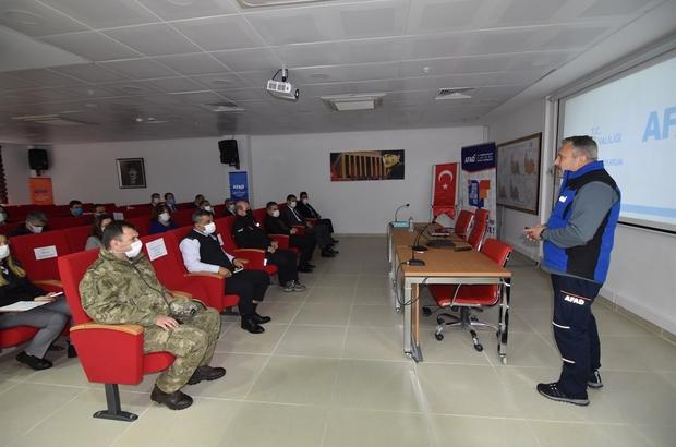 Deprem kuşağındaki Tekirdağ'da afet eğitimleri sürüyor