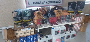 İzmir'de kaçak tütün operasyonu: 44 kilogram tütün ele geçirildi