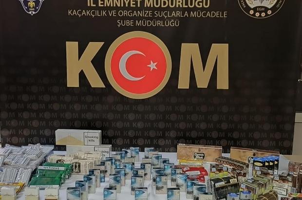Kastamonu'da kaçak tütün ele geçirildi