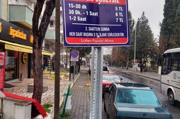 Büyükşehir'den yol üstü otopark açıklaması Muğla Büyükşehir Belediyesi tarafından yol üstü otopark ücretlendirmesi ile ilgili açıklama yapıldı.