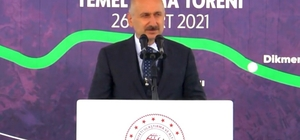 Bakan Karaismailoğlu, Ceylanpınar-Kızıltepe karayolunun temel atma törenine katıldı Karayolu tamamlandığında yıllık 32 milyon lira tasarruf sağlanacak