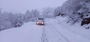 Tunceli'de kar 138 köy yolunu ulaşıma kapattı