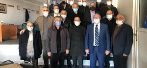 Erzurum Horasanlılar Derneği Başkanı Abuzer Çolak güven tazeledi