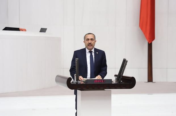 "AK Parti'li Arvas: ""Su stratejik bir kaynaktır"""