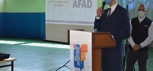 İspir'de 2021 'Afet Eğitim yılı' çalışma semineri düzenlendi