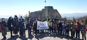 Erzincanlı gençler, Elazığ'ı gezdi