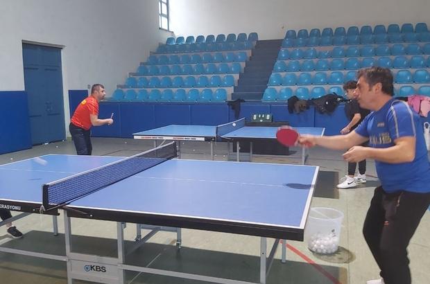 Sanayide yaptığı masa tenisi masaları ile uluslararası turnuvayı ilçeye getirdi Spor tutkusu ile 26 ülkeden 350 sporcuyu ilçesine getirecek