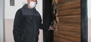 Depremzedelerin giremediği evlerde hırsızlar cirit atıyor Depremzedelerin boşalttığı evlerde hırsızlık anları güvenlik kamerasında