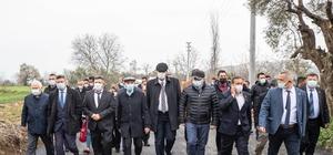 Başkan Soyer, Küçük Menderes Havzası turunu Tire ile sürdürdü