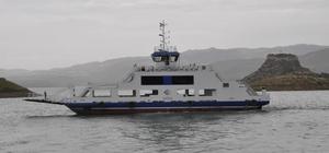 Tunceli-Elazığ feribotlarına kısıtlama düzenlemesi
