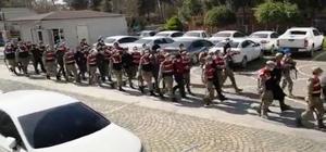Şanlıurfa merkezli uyuşturucu operasyonunda 15 tutuklama