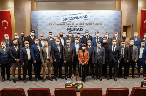 MÜSİAD İzmir'de yeni dönem başladı MÜSİAD İzmir Başkanı Bilal Saygılı, 2021-2023 hedeflerini açıkladı