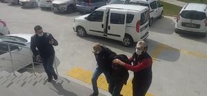 Tekirdağ'da Atatürk büstlerine yazı yazan şahıs tutuklandı Şahsın DEAŞ'a üye olduğu ortaya çıktı