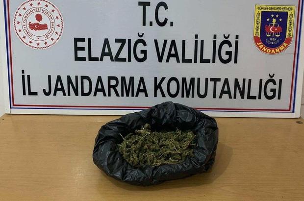 Elazığ'a uyuşturucu getiren şahıs yakalandı
