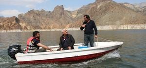 Ayvalı Barajında balık üretimi başladı Erzurum'dan yurt dışına balık pazarlıyor
